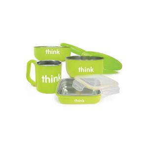 Thinkbaby Feeding Set -Green