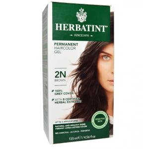 意大利Herbatint天然植物染发剂 2N-棕色 40余年无氨植物染发专家 孕妇可用