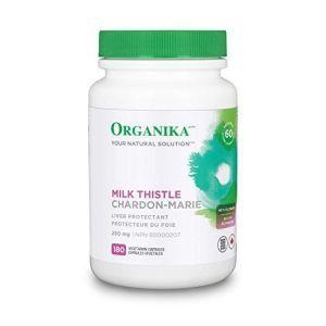 Organika Milk Thistle 250mg 180 Softgels