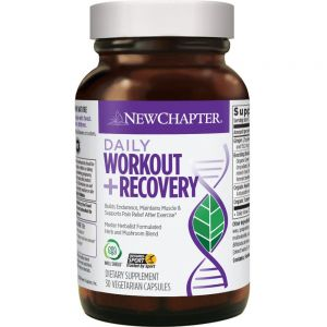 New Chapter Daily Workout + Recovery 30 VCapsules