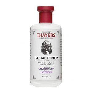 Thayers Lavender Witch Hazel With Aloe Vera Alcohol Free Toner 12oz 355ml