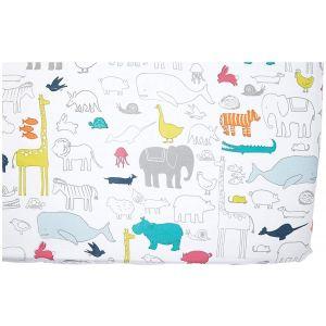 Pehr Designs Noah's Ark Crib Sheet - Multi