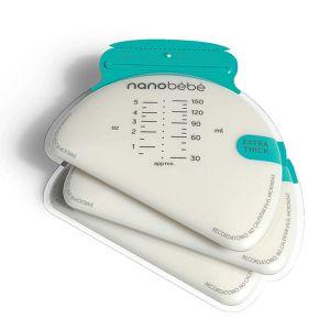 Nanobebe Breastmilk Storage Bags 50 Pack