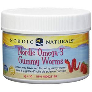 Nordic Naturals Omega-3 Gummy Worms 5g x 30