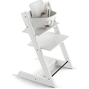 Stokke Tripp Trapp High Chair V3 with Baby Set - White