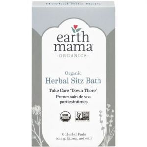 Earth Mama Organics Herbal Sitz Bath Take Care Down There 6 Herbal Pads