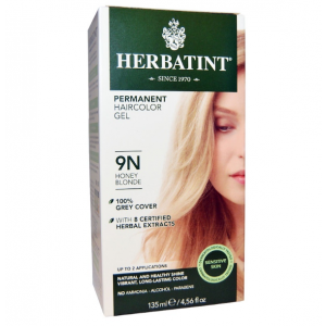 意大利Herbatint天然植物染发剂 9N-蜂蜜亚麻色 40余年无氨植物染发专家 孕妇可用