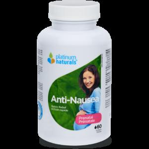 Platinum Naturals Prenatal Anti-Nausea 60 Softgels