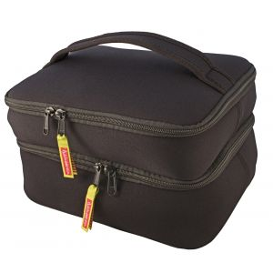 DabbaWalla Duo Machine Washable Lunch Bag - Black