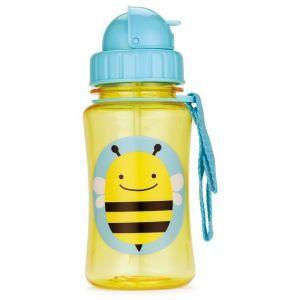 Skip Hop Zoo Straw Bottle 12 oz -Bee