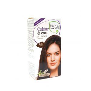 Hair Wonder 染护合一草本染发剂 红褐色 4.56