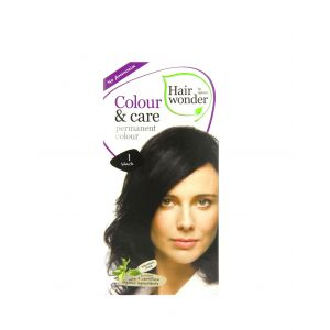 Hair Wonder 染護合一草本染髮劑 黑色 1
