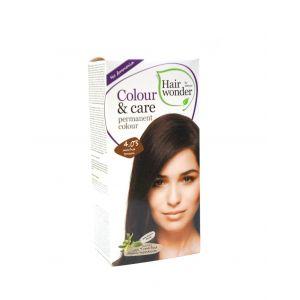 Hair Wonder 染护合一草本染发剂 啡红色 4.03