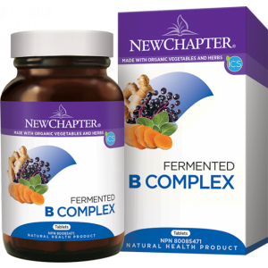 New Chapter Fermented B Complex 30 Tablets