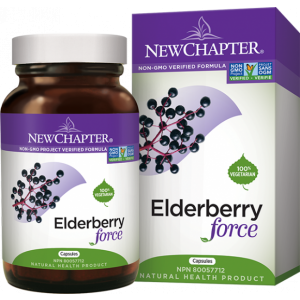 New Chapter Elderberry Force 30 Capsules