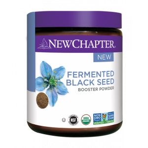 New Chapter Fermented Black Seed Booster Powder 36g (30 Servings)