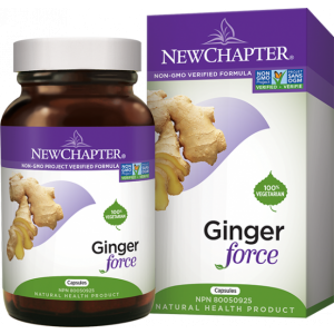 New Chapter Ginger Force 60 Capsules