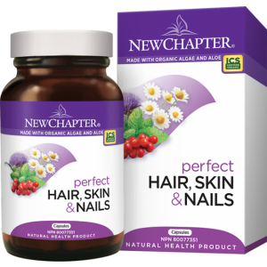 New Chapter Perfect Hair Skin & Nails 30 Vegetarian Capsules