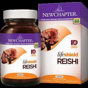 New Chapter Lifesheild Reishi 72 Capsules
