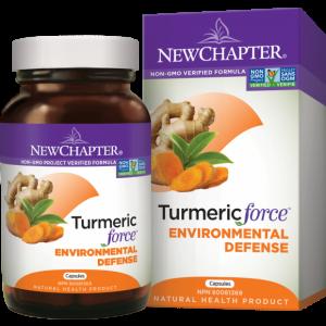 New Chapter TurmericForce Environmental Defense 48 Capsules