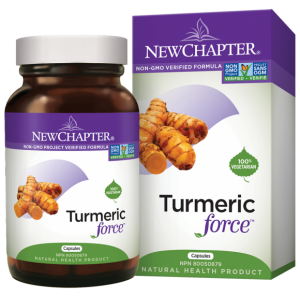 New Chapter Turmeric Force 120 Capsules