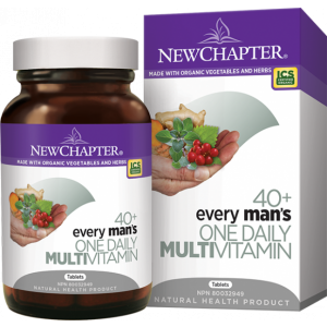 New Chapter Every Man's One Daily 40+ 72 Tablets