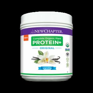 New Chapter Complete Organic Plant Protein+ Original Vanilla 423g