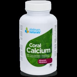 Platinum Naturals Coral Calcium Minerals 90 Capsules