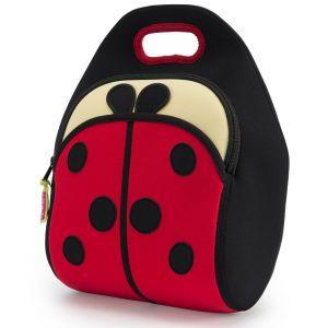 DabbaWalla Machine Washable Insulated Lunch Bag - Cute as a Bug