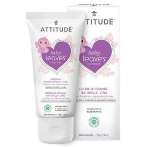 Attitude Baby Leaves Zinc Diaper Cream Fragnance Free 75g