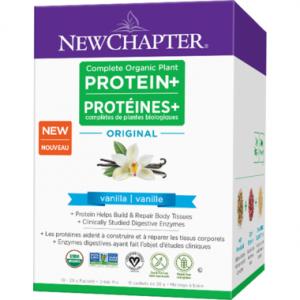 New Chapter Complete Organic Plant Protein+ Original Vanilla Box 10x28g