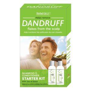 Herbal Glo草本植物去屑洗发护发套装 2x120ml