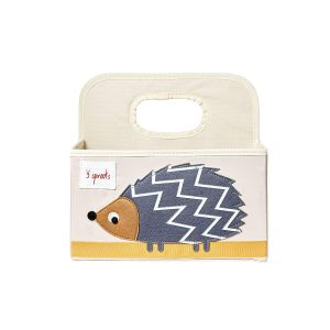 3 Sprouts Diaper Caddy hedgehog