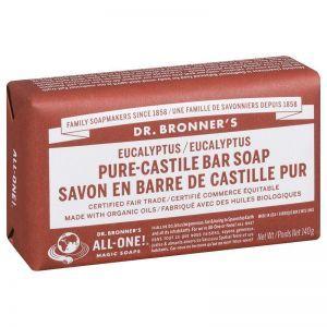 Dr. Bronner's 尤加利潔膚皂 140克