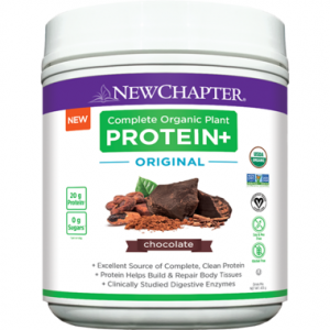 New Chapter Complete Organic Plant Protein+ Original Chocolate 435g