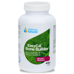 Platinum Naturals EasyCal Bone Builder 240 Softgels