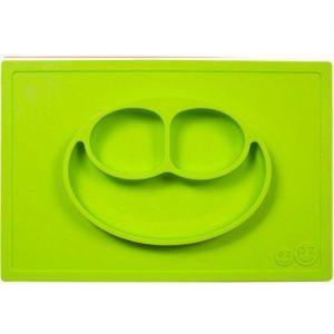 EZPZ 快乐吸盘餐盘 有三格 ( 绿色 )