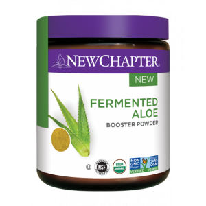 New Chapter Fermented Aloe Booster Powder 36g (30 Servings)