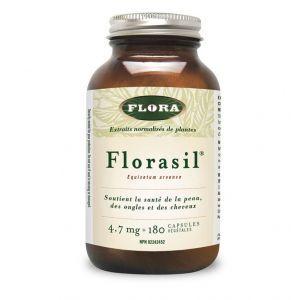 Flora Florasil 馬尾草中矽化物 180粒