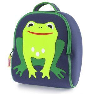 DabbaWalla Machine Washable Preschool Backpack - Frog