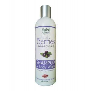 Herbal Glo Shampoo & Conditioner Acai Berries Baobab Tsubaki Oil 350ml