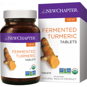 New Chapter Fermented Turmeric Tablets 48 Tablets