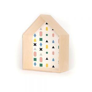 Gautier Studio Multicolor House Shelf