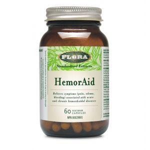 Flora HemorAid 60 Vegetarian Capsules ****Expired date 2020/12/31****