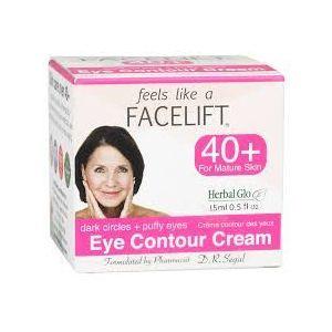 Herbal Glo Facelife 40岁女士修护明亮提升眼霜 15ml