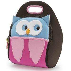 DabbaWalla Machine Washable Insulated Lunch Bag - Hoot Owl