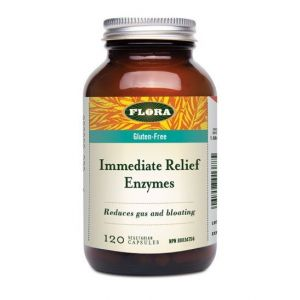 Flora Udo's Choice Immediate Relief Enzyme 120 Vcaps