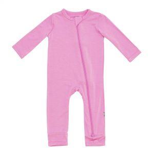 Kyte Baby Zippered Romper in Bubblegum 3-6 months