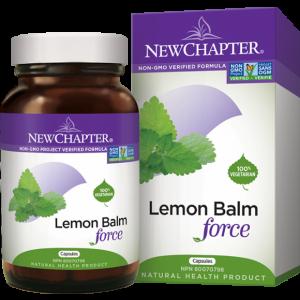New Chapter Lemon Balm Force 30 Capsules