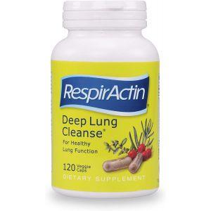 RespirActin Deep Lung Cleanse 120 Veggie Caps